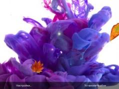 Ink in Water Live Wallpaper для Samsung Galaxy