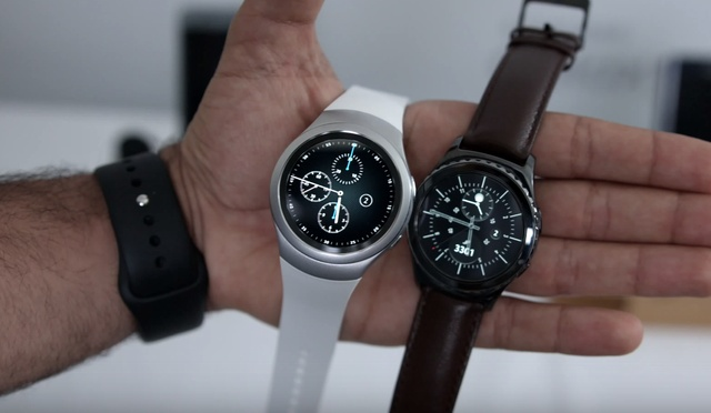 внешний вид Samsung Gear S2 и Gear S2 Classic