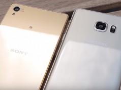 Samsung Galaxy Note 5 vs Sony Xperia Z5 Premium