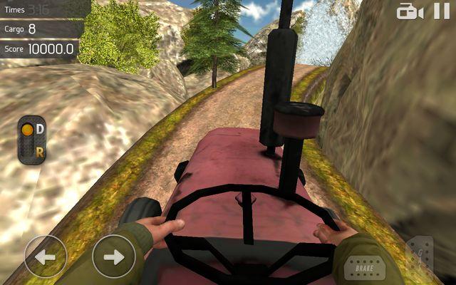 Truck Driver 3D: Offroad для Samsung Galaxy