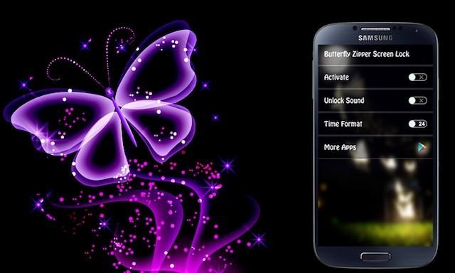 Butterfly Locksreen - приятная
