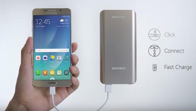 Samsung представила свой Fast Charge Powerbank