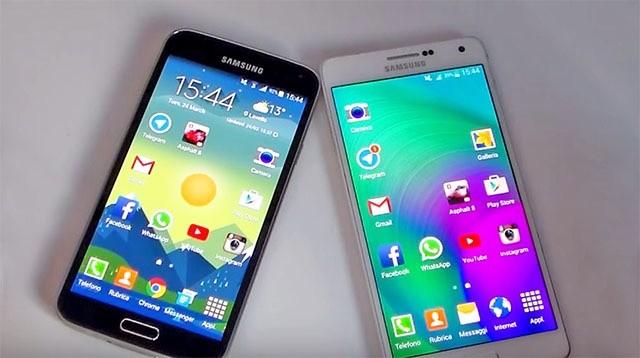 Сравнение Galaxy A7 и Galaxy S5