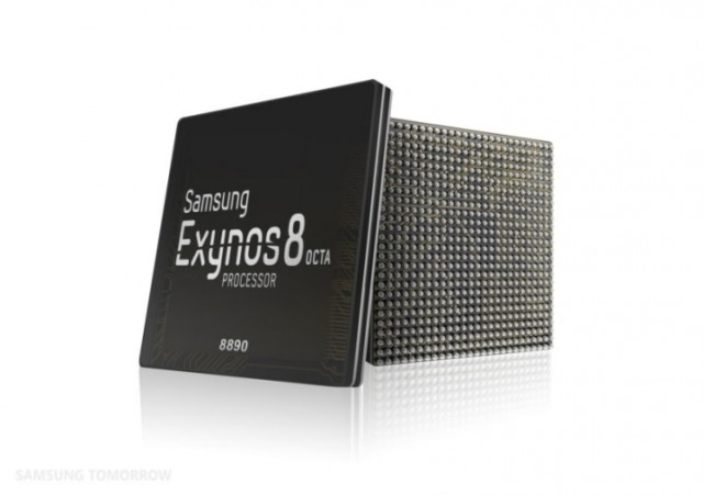 Официально представлен процессор Exynos 8 Octa 8890