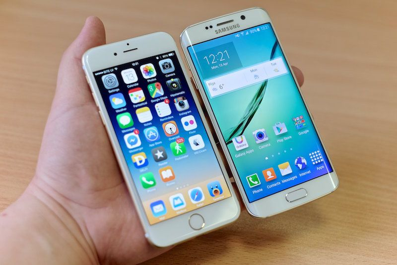Galaxy S6 Edge+ vs iPhone 6s Plus