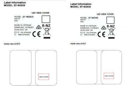 В сети появились LED View Cover чехлы для Galaxy S7