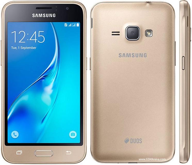 Samsung Galaxy J1 2016 J120F - серебристый