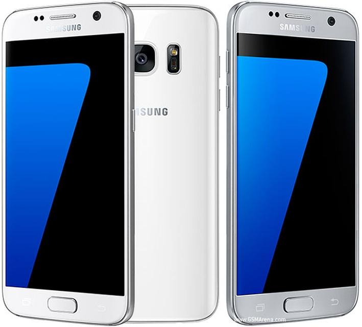 Samsung Galaxy S7 - серебристый титан