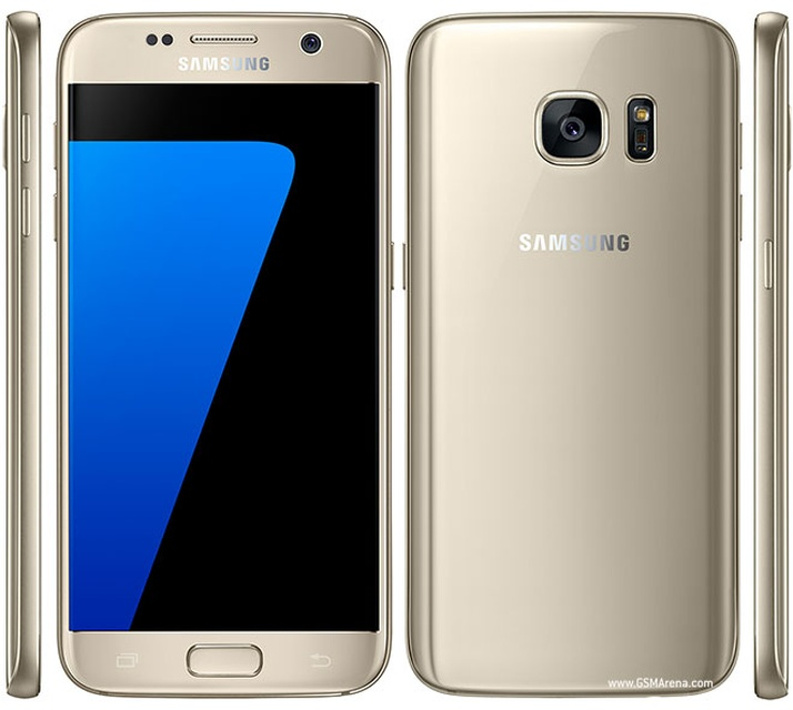 Samsung Galaxy S7 - платина цвет