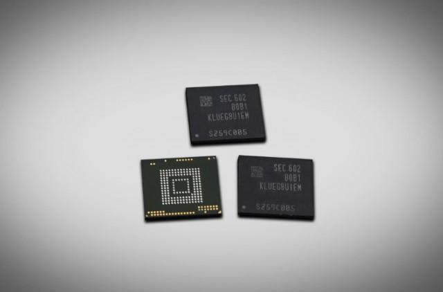Samsung объявила о начале производства накопителей для мобильных устройств объемом 256 Гб