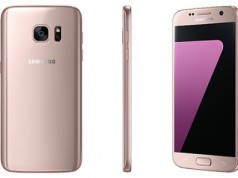 Новинки от Samsung - Galaxy S7 и S7 edge представлены в розовом цвете