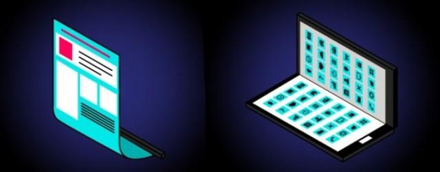 Samsung разрабатывает устройство имеющее функцию складывание дисплея