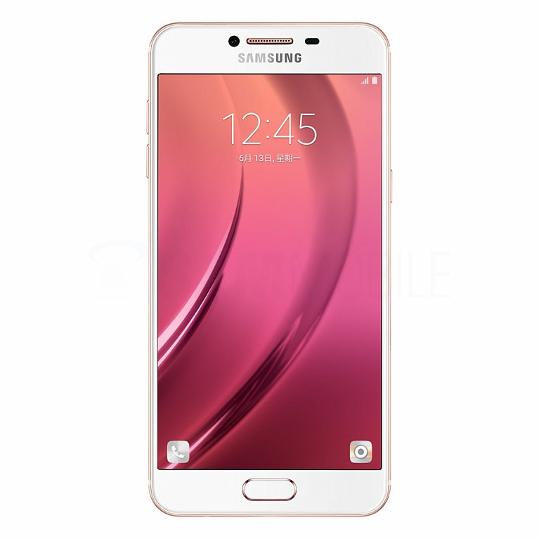 Galaxy C5 – Pink Gold спереди