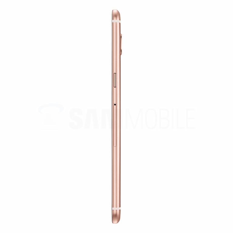 Galaxy C5 – Pink Gold с правого бока