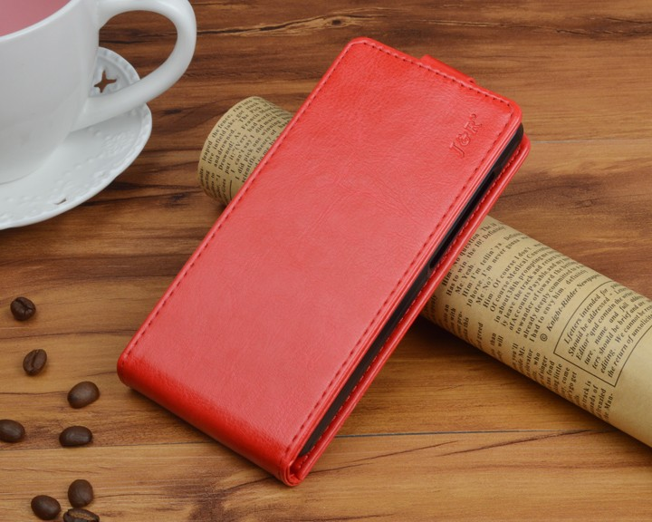Кожаный чехол для Samsung Galaxy J5 2016 J510 - красный