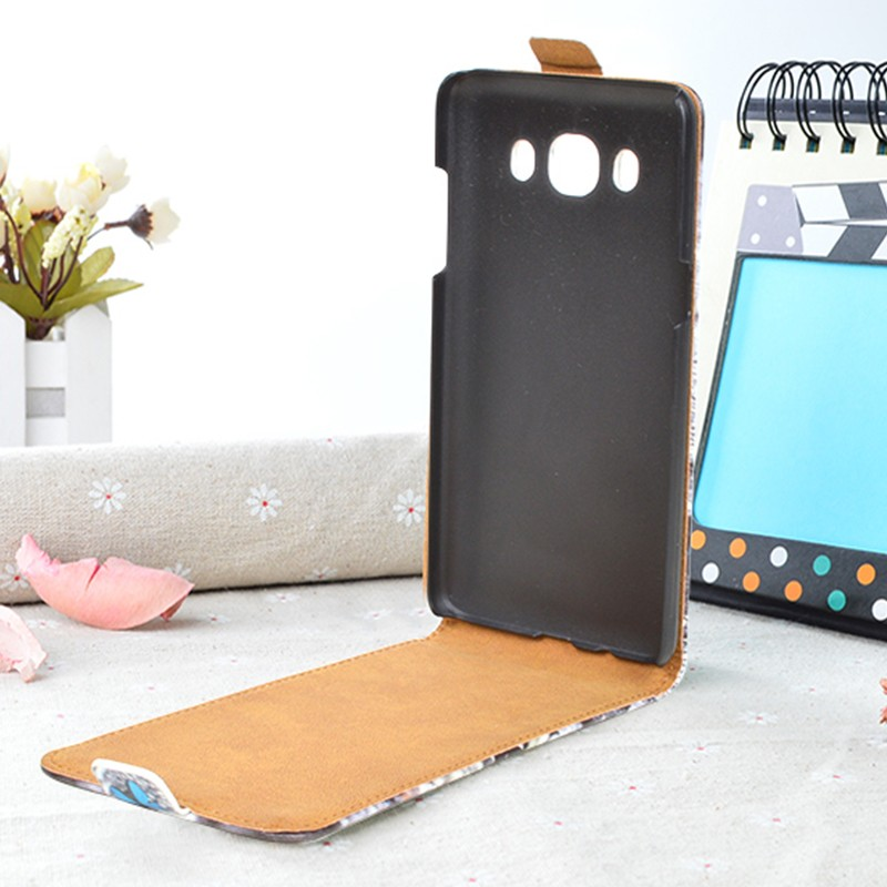 Кожаный чехол для Samsung Galaxy J5 2016 J510 - флип
