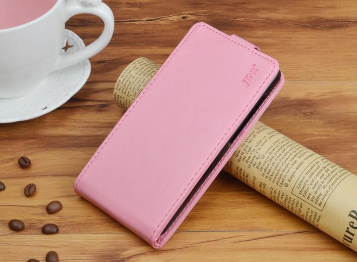 Кожаный чехол для Samsung Galaxy J5 2016 J510 - розовый