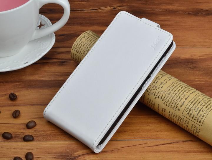 Кожаный чехол для Samsung Galaxy J5 2016 J510 - белый