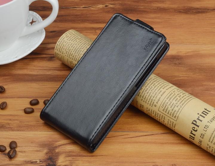 Кожаный чехол для Samsung Galaxy J5 2016 J510 - черный