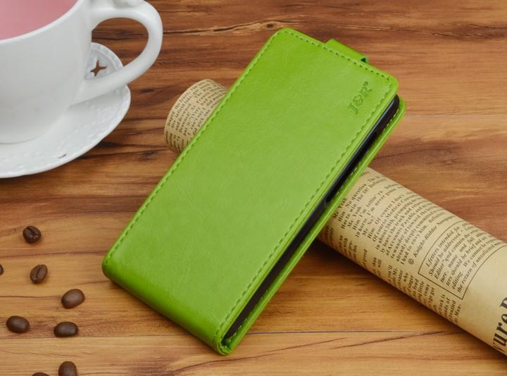 Кожаный чехол для Samsung Galaxy J5 2016 J510 - зеленый