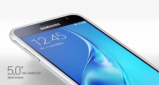 Samsung Galaxy J3 2016 экран