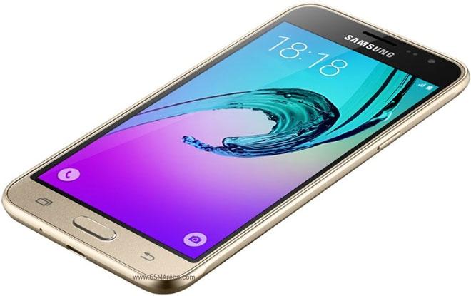 Samsung Galaxy J3 2016 - золотистый