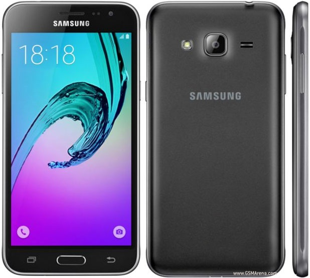 Samsung Galaxy J3 2016 - черный