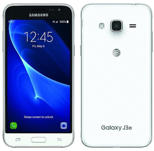 Samsung Galaxy J3 2016 белый