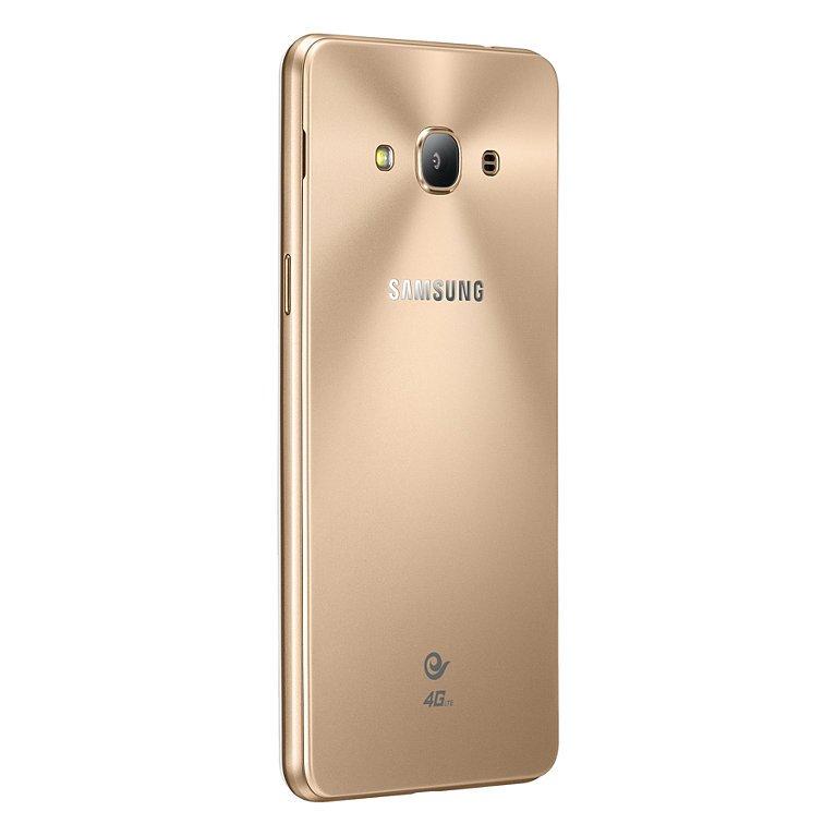 Galaxy J3 Pro сзади, золотой