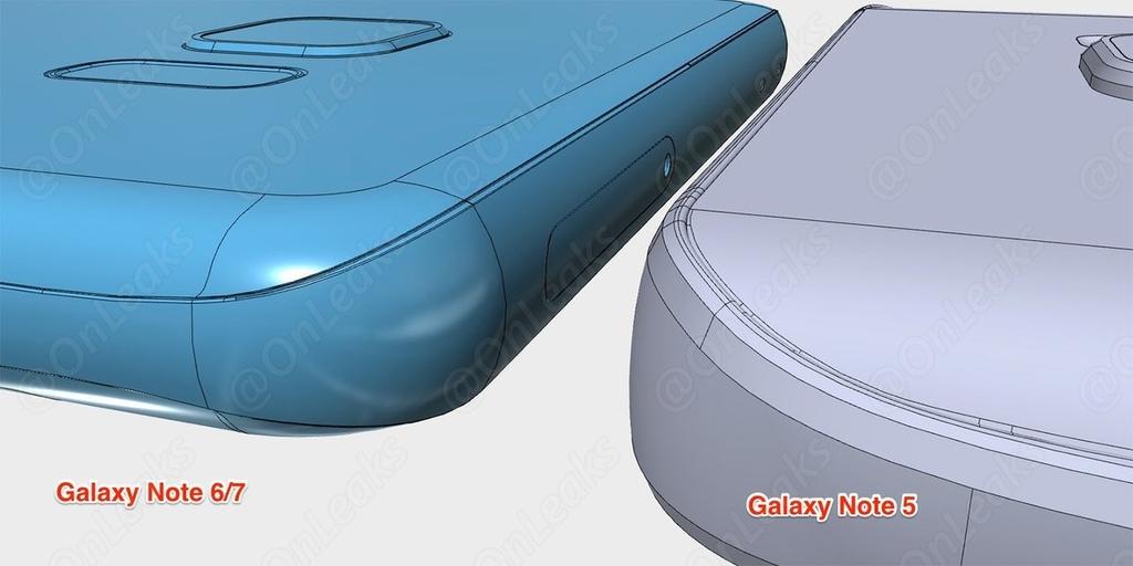 Galaxy Note 5 против Galaxy Note 6 сравнение телефонов вблизи