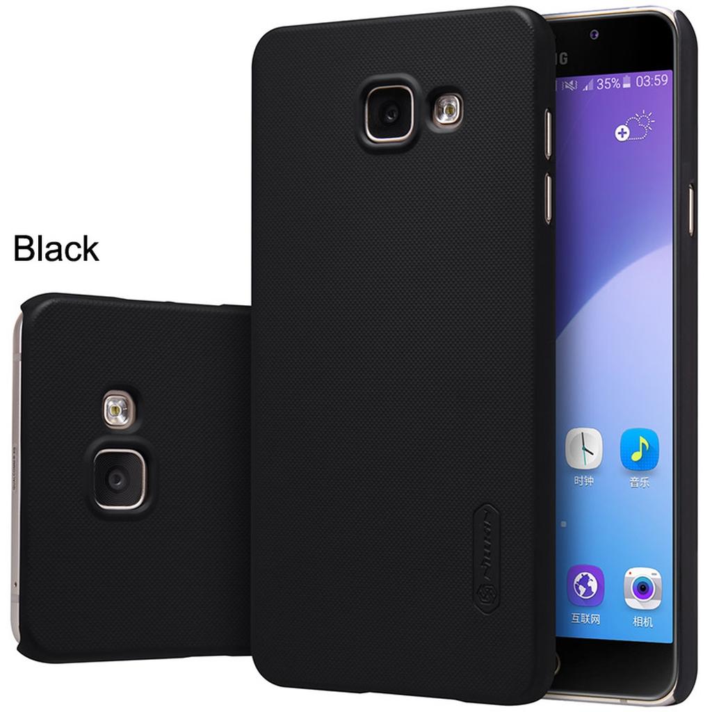 Samsung Galaxy в черном чехле с разного вида