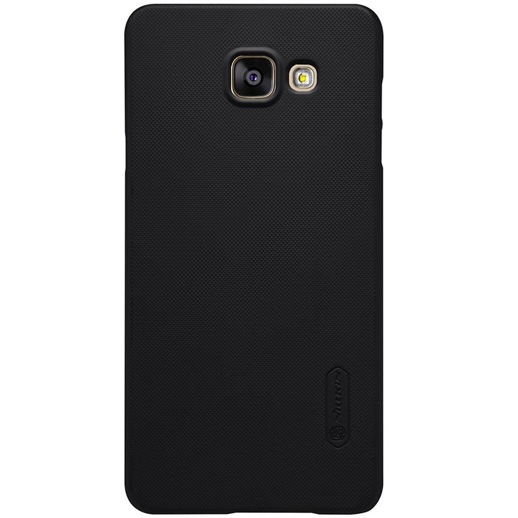 Samsung Galaxy в черном чехле сзади