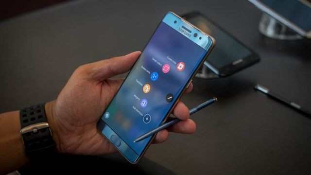 Экран Samsung Galaxy Note 7 признан лучшим среди смартфонов