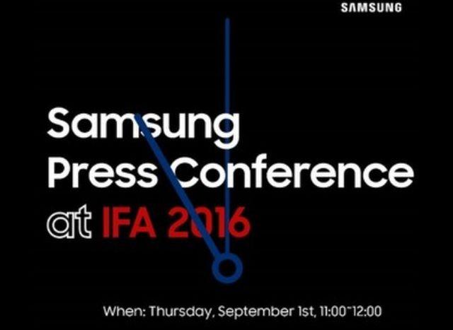 Компания Samsung пообещала на IFA 2016 показать свои новые умные часы