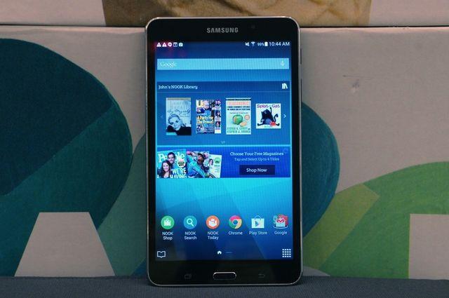 Samsung совместно Barnes & Noble с представили новый планшет Galaxy Tab A Nook