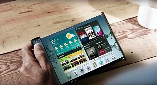 Samsung выпустит планшет со складывающимся дисплеем