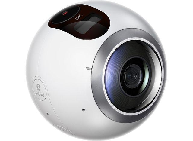 Вскоре компания Samsung представит камеру Gear 360 Pro