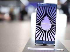Samsung приостановила производств Galaxy Note 7