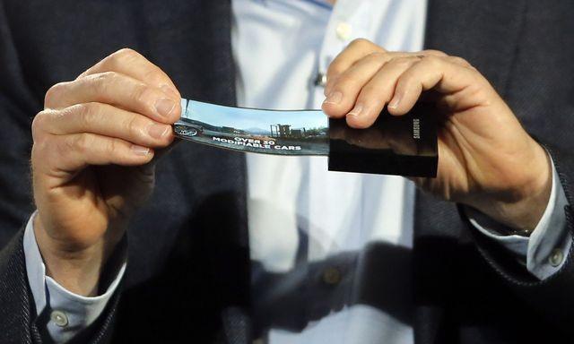 Samsung запатентовал гнущиеся OLED-дисплеи