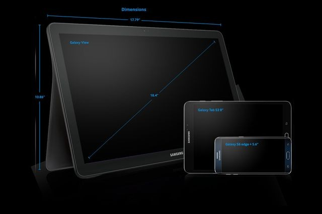Для чего Samsung Galaxy View
