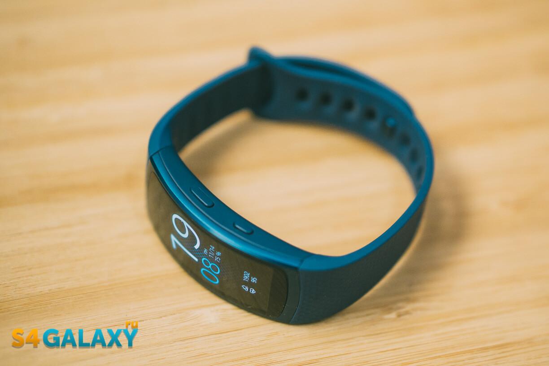 Samsung Gear Fit 2 - рамка, корпус и боковые кнопки