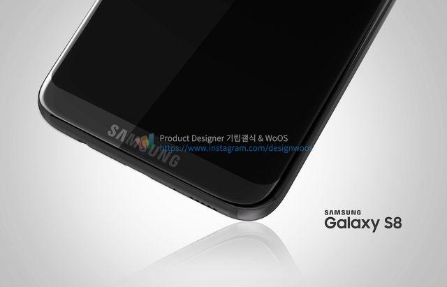 В сети появились новые изображения флагмана Galaxy S8