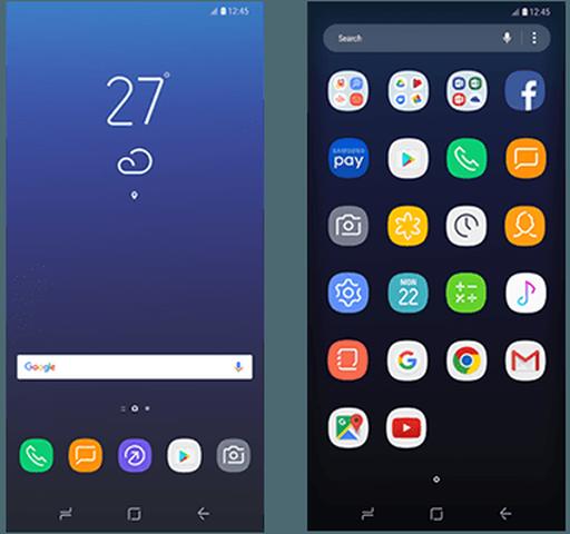 Скриншоты интерфейса Samsung Galaxy S8 попали в сеть