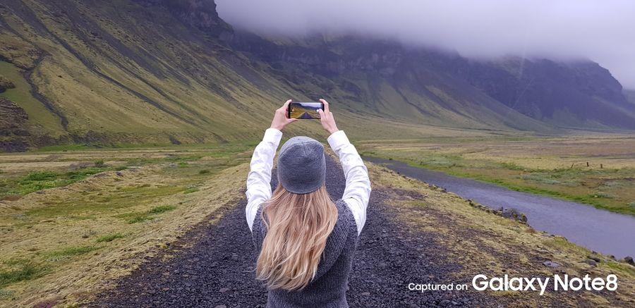 Фото с камеры Galaxy Note 8 - горы
