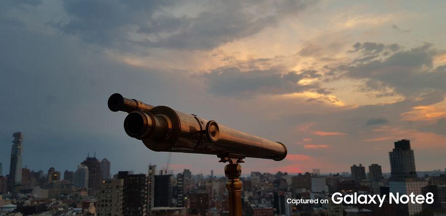 Фото с камеры Samsung Galaxy Note 8 вечерний пейзаж