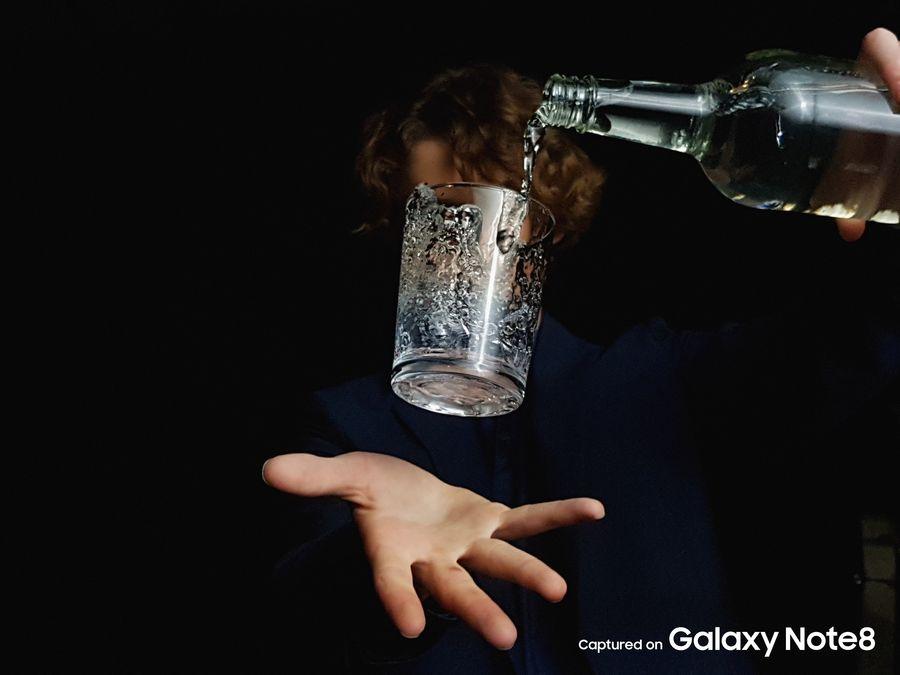 Фото с камеры Samsung Galaxy Note 8 плохая освещенность