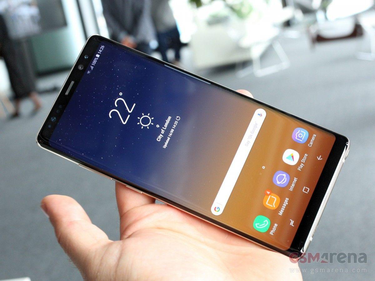 Внешний вид Samsung Galaxy Note 8