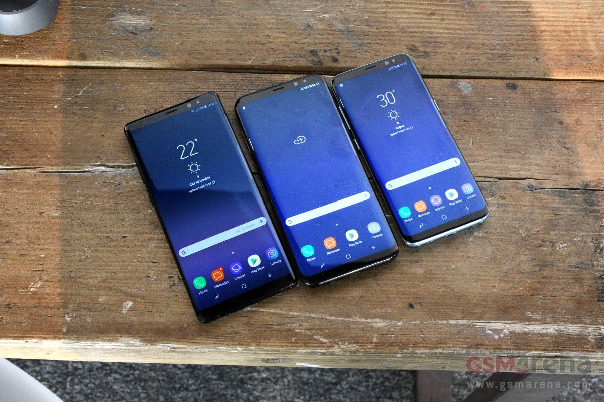 Galaxy Note 8 vs Galaxy S8+