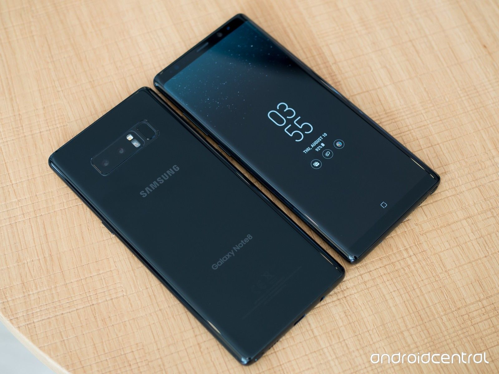 Samsung Galaxy Note 8 - черный