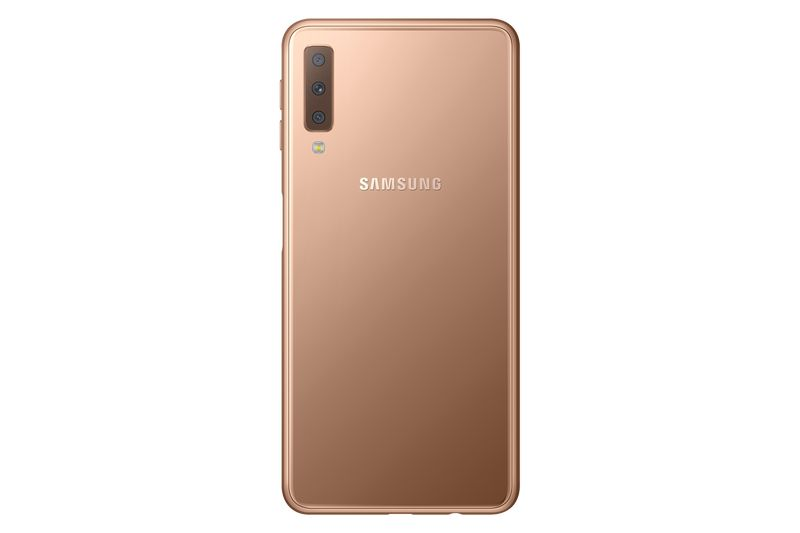 Samsung Galaxy A7 2018 золотой